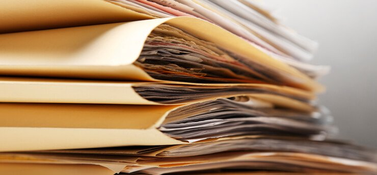 write down all necessary details on the documents