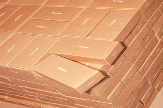 Packaged boxes
